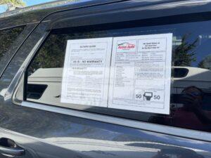LS1218 Used Car Laminating Sheets Qty. 400